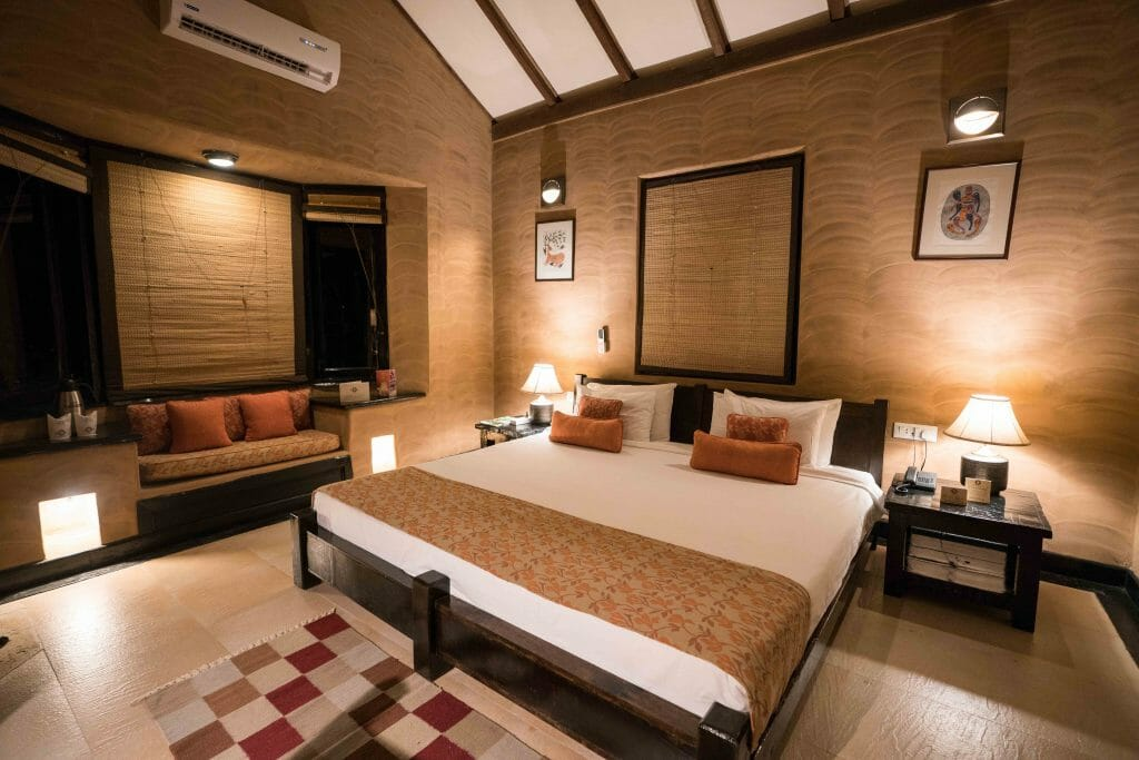 Luxurious Room at Kings Lodge in Bandhavgarh National Park Madhya Pradesh