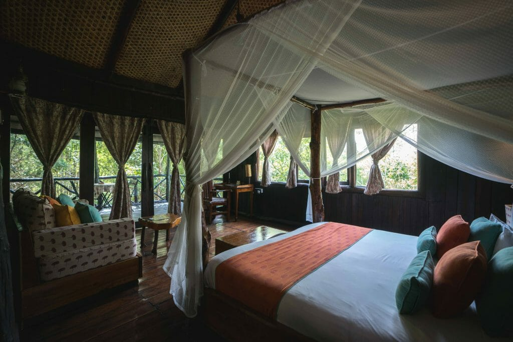 Luxurious Treehouse Room at Treehouse Hideaway at Bandhavgarh National Park - Madhya Pradesh Safari