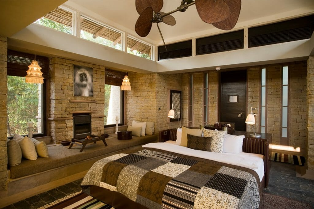Room at Parshan Garh Luxury Safari Lodge - Madhya Pradesh Safari