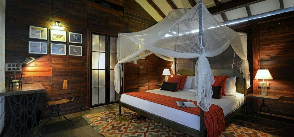 Luxurious Treehouse at Pugdundee Safari's Pench Treehouse Lodge in Madhya Pradesh